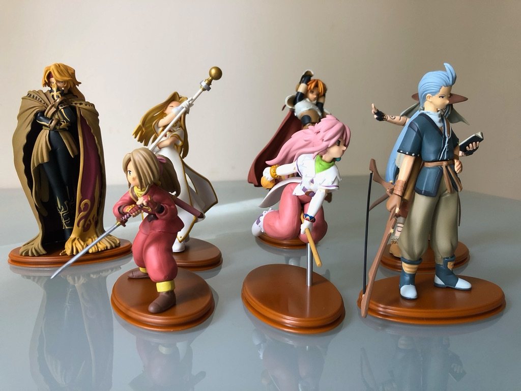 Tales Of Phantasia One Coin Figure Series Complete Set (Rare)