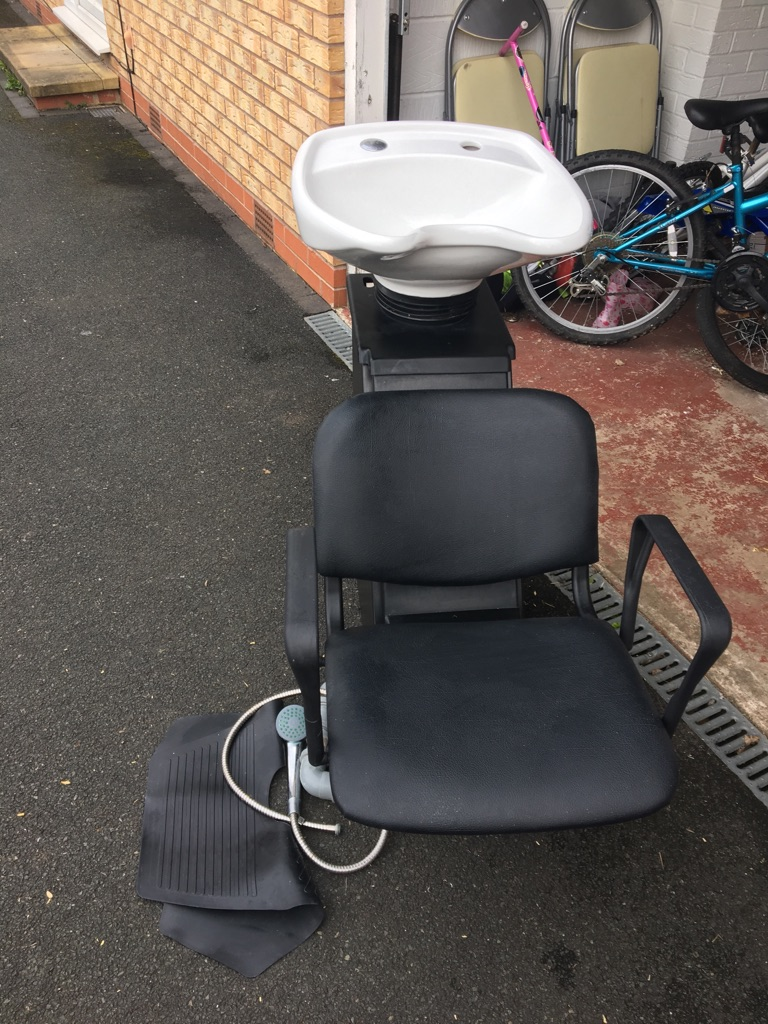 Chair and basin