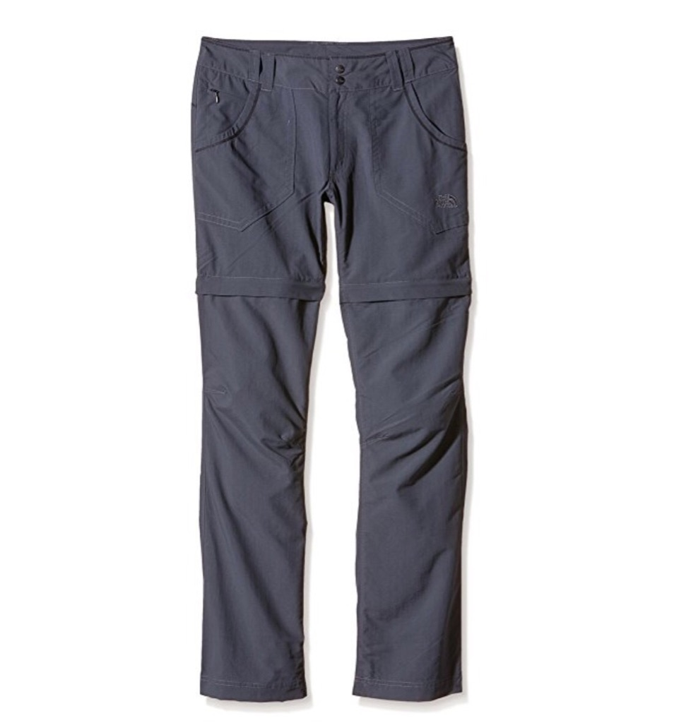 North Face Convertible Hiking Horizontal Women's Outdoor Trouser / Side: 2 EU / color: Vanadis Grey
