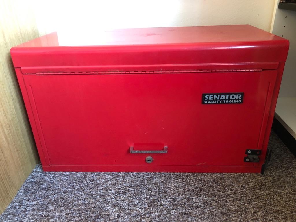 SENATOR Used Toolbox Red £50 OVNO