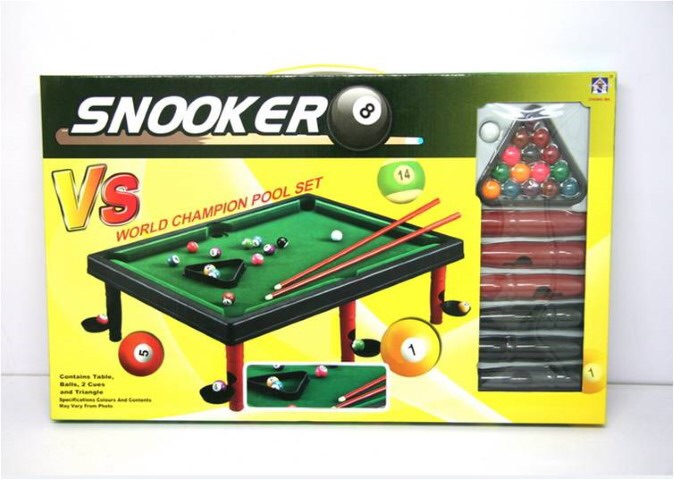 Pool table toy