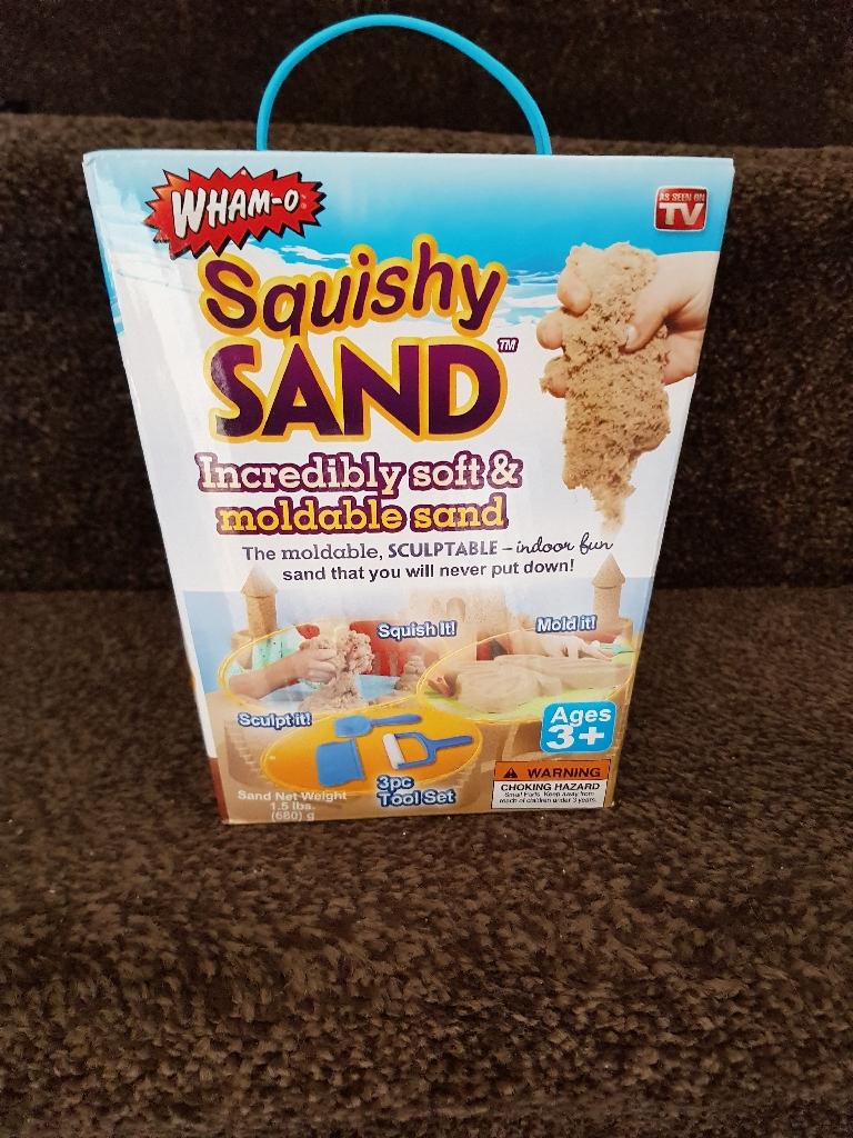 Brand new squishy sand