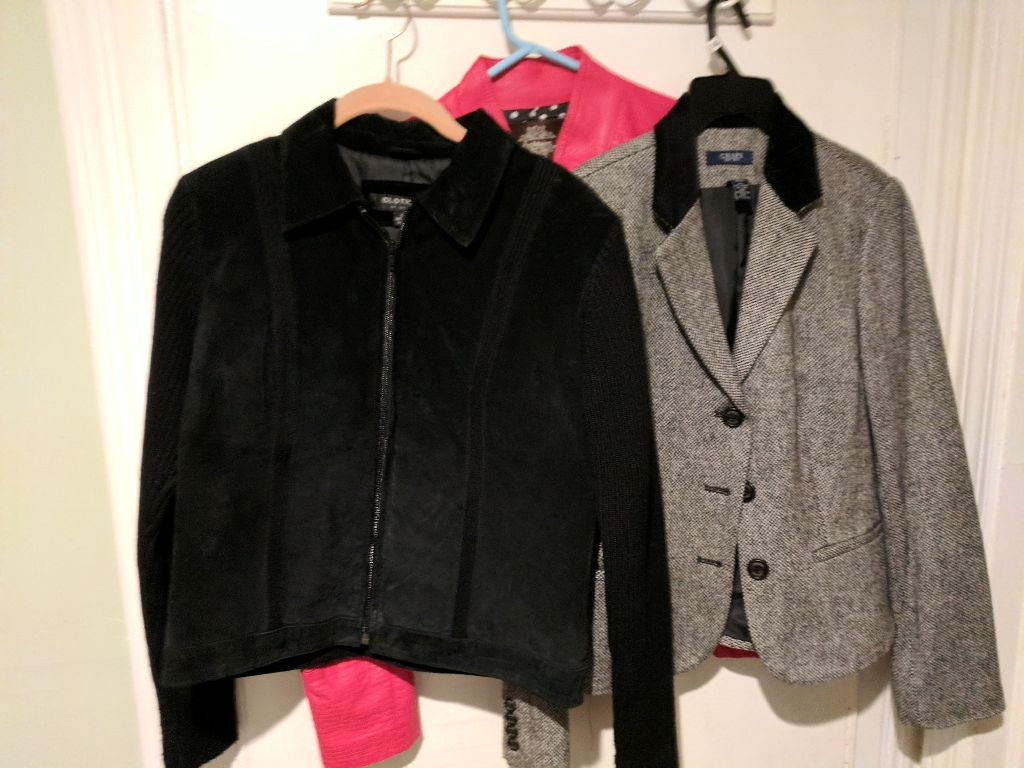Authentic Leather, Suade, Marino Wool Jackets