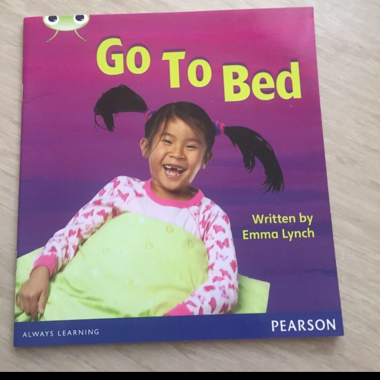 Go to bed book