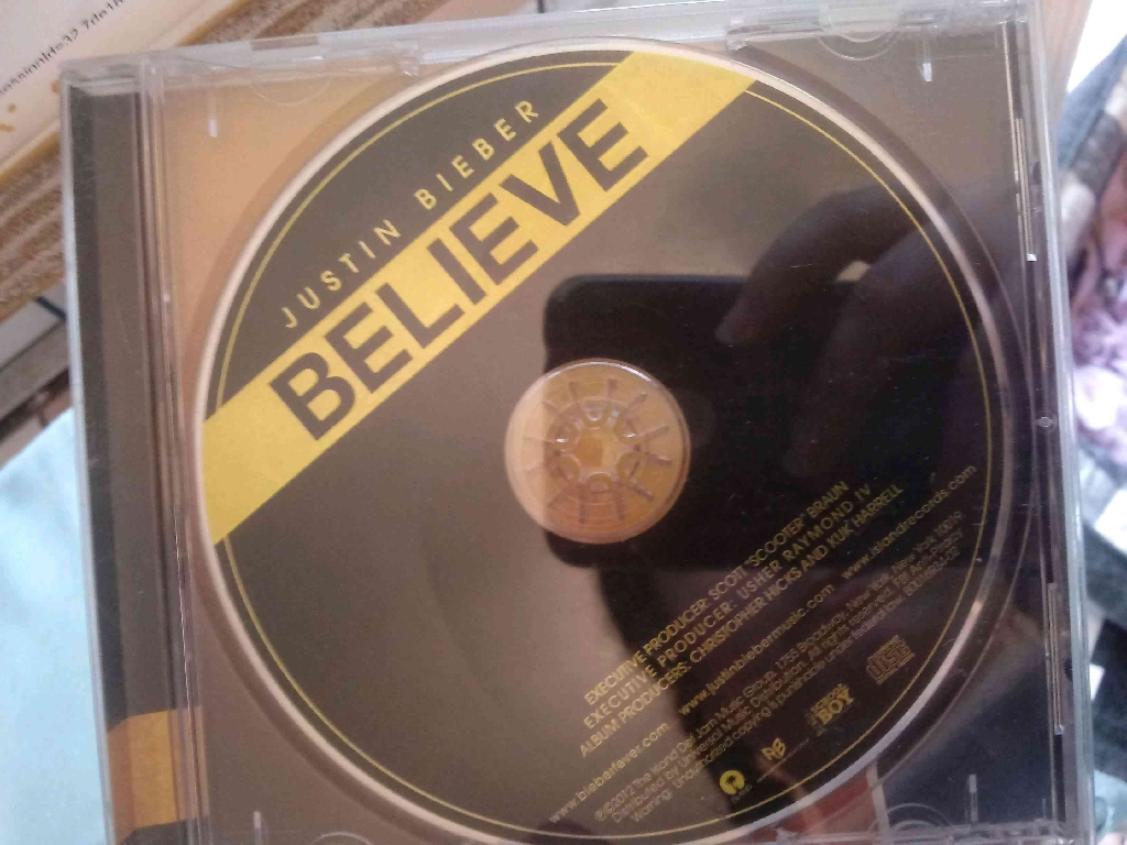 Justin Bieber Believe CD music
