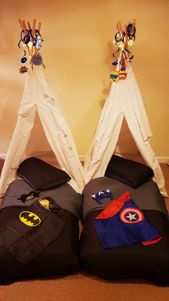 Sleepover Parties from Little Treasures Teepees