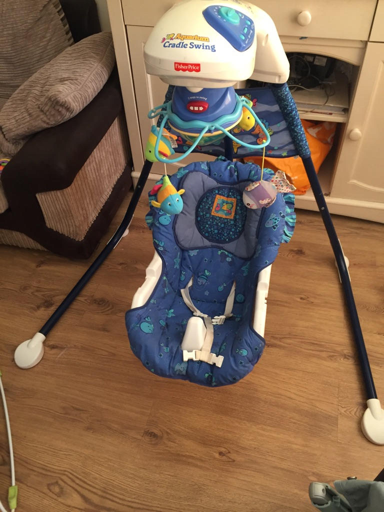 Fisher price cradle swing chair