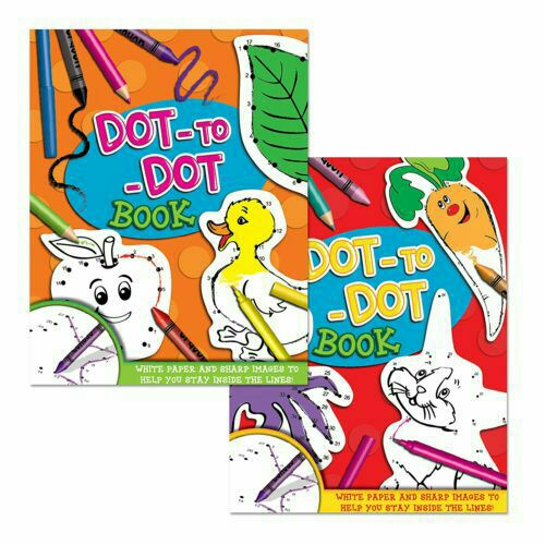 Dot to Dot book A4 size