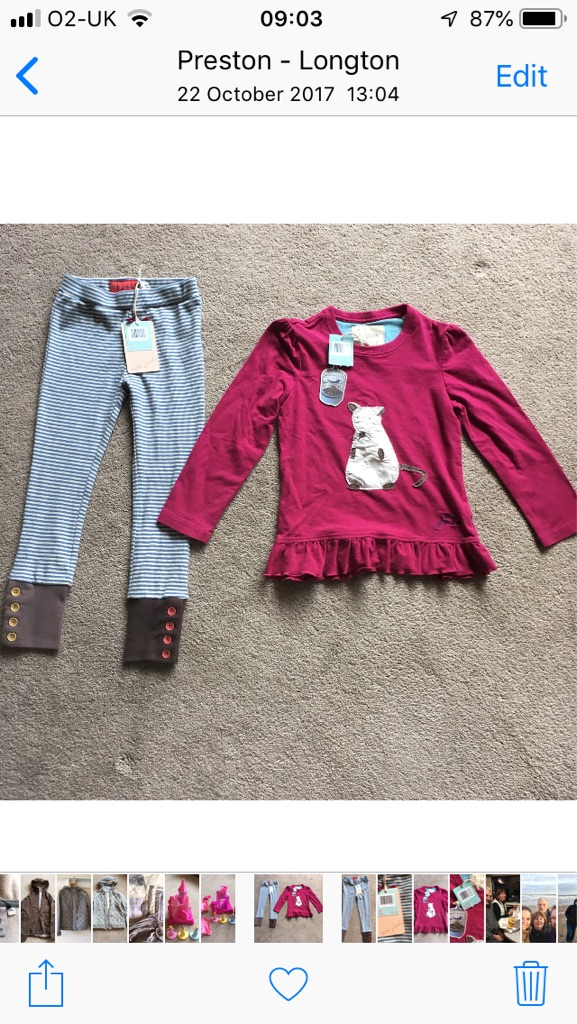 Little Joules Top & Leggings