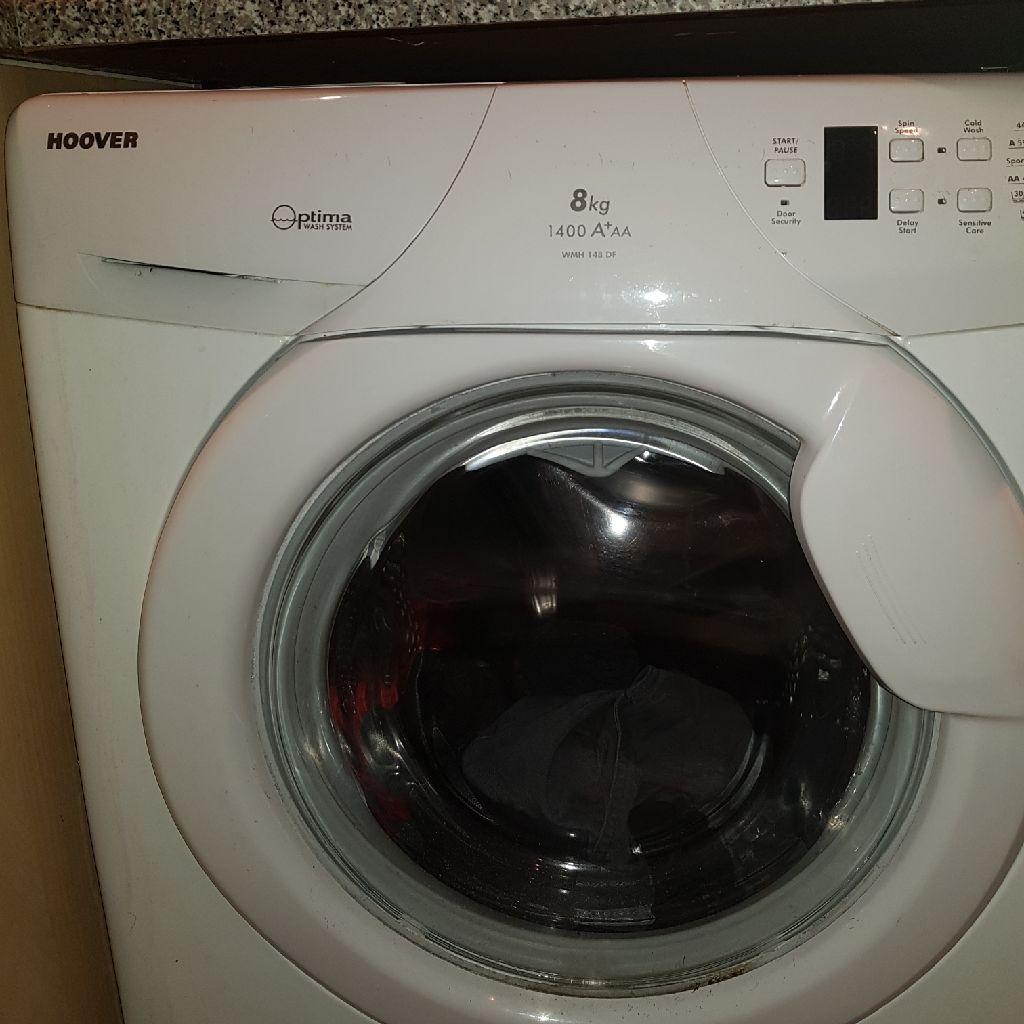 8kg hoover washing machine
