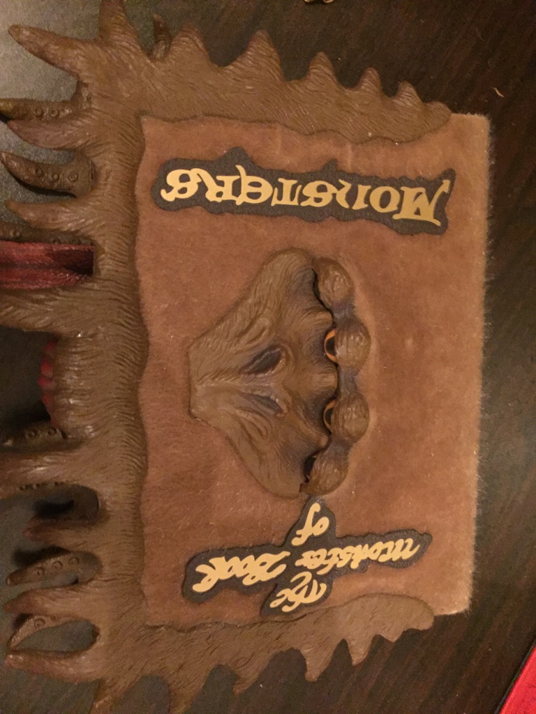 Harry Potter monster book of monsters
