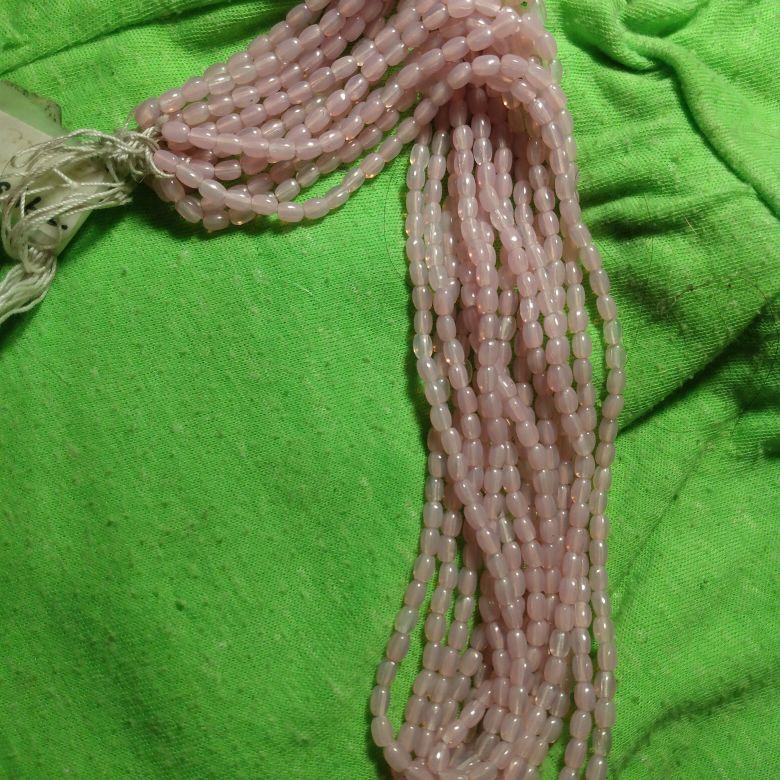 Light Pink Glossy Rainbow Beads