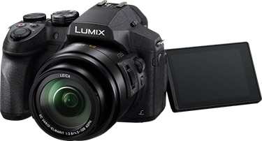 Camera Panasonic lumix fz300 4k camera