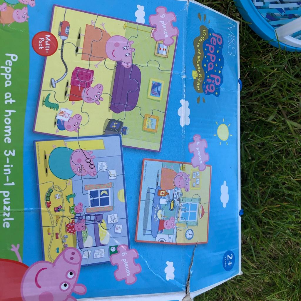 Peps pig puzzle