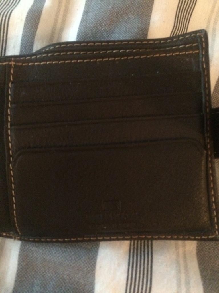 Men brown marks and Spencer wallet