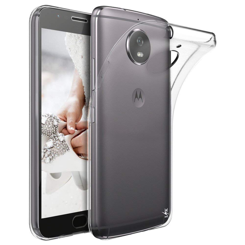 Clear Silicone Slim Gel Case for Moto G5S