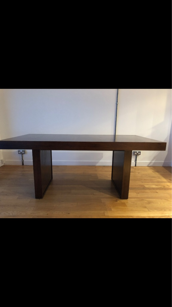 Beautiful Sterling Warehouse dining table - seats 6