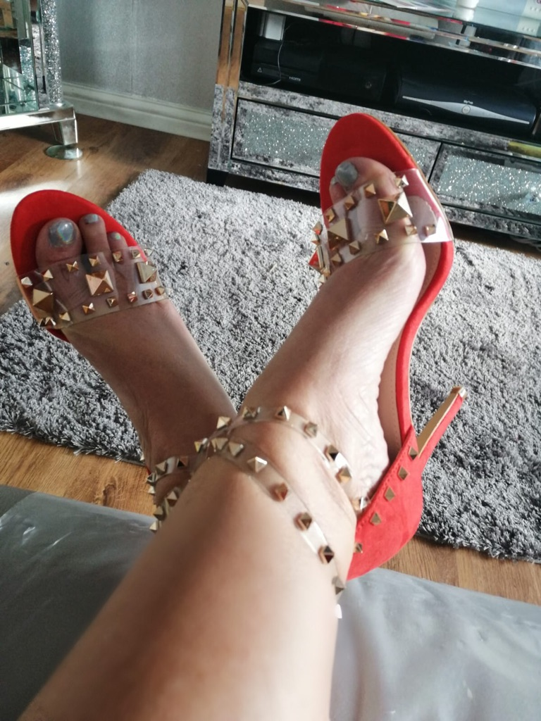 Women's red shoes by bello star size 4..5..6..7