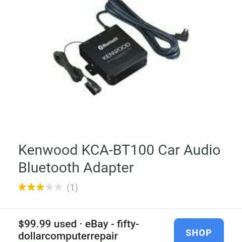 Kenwood blue tooth hands free box