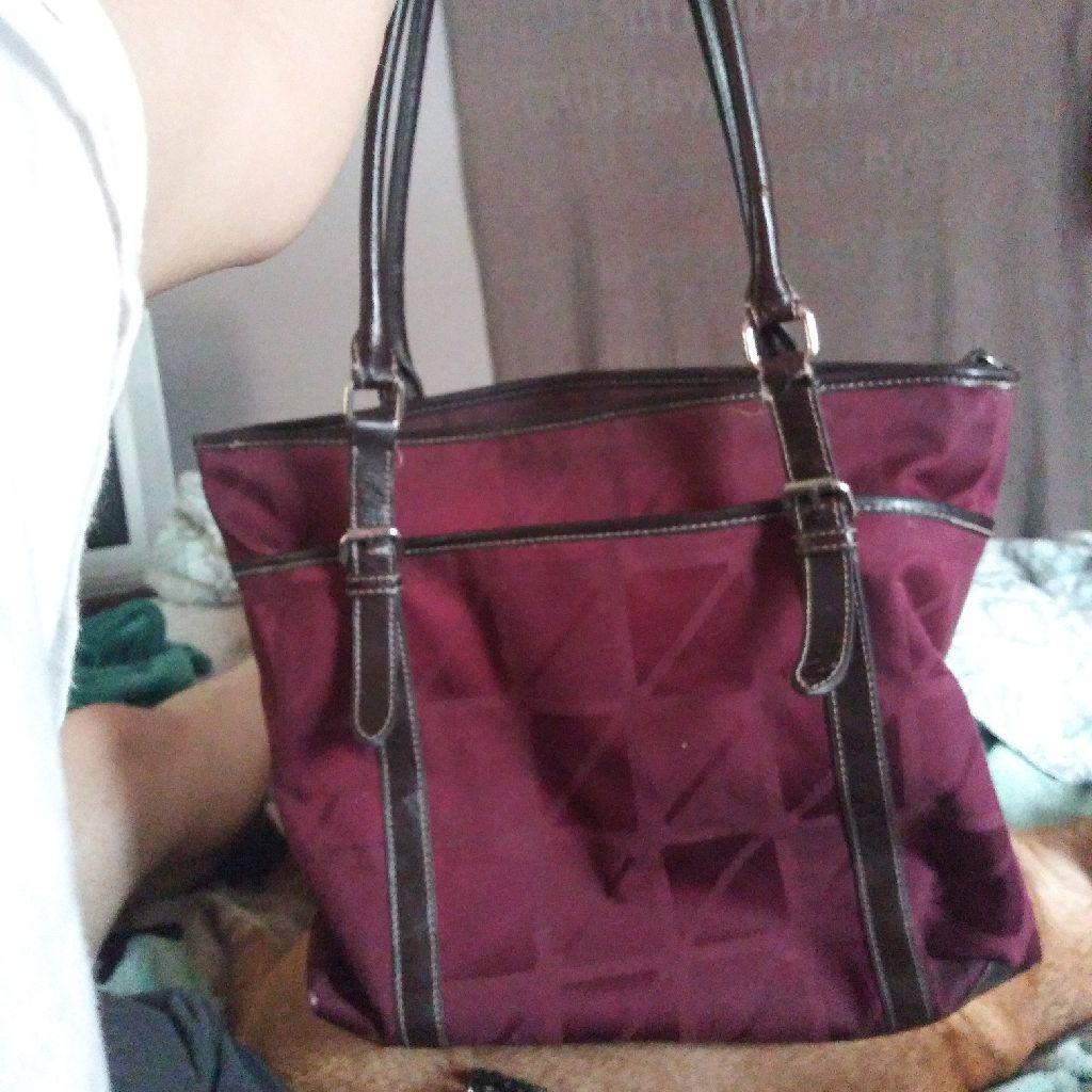 Nine west brand purse. Purple/marroon.