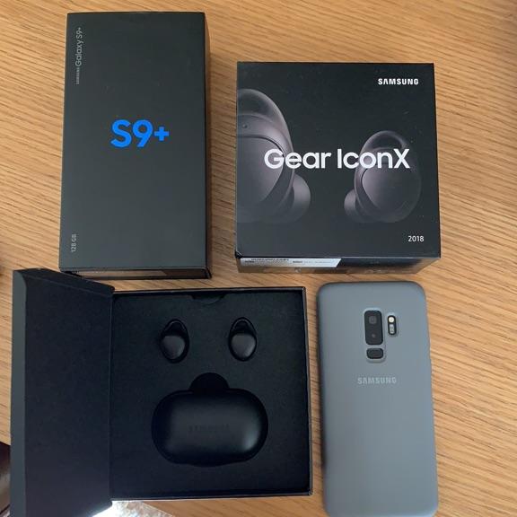 Samsung S9 Plus & Gear IconX