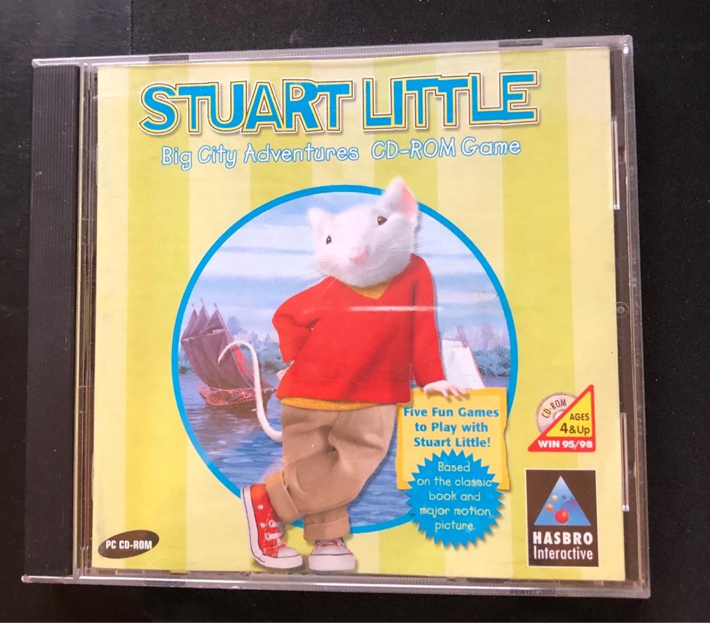 STUART LITTLE CD - ROM GAME