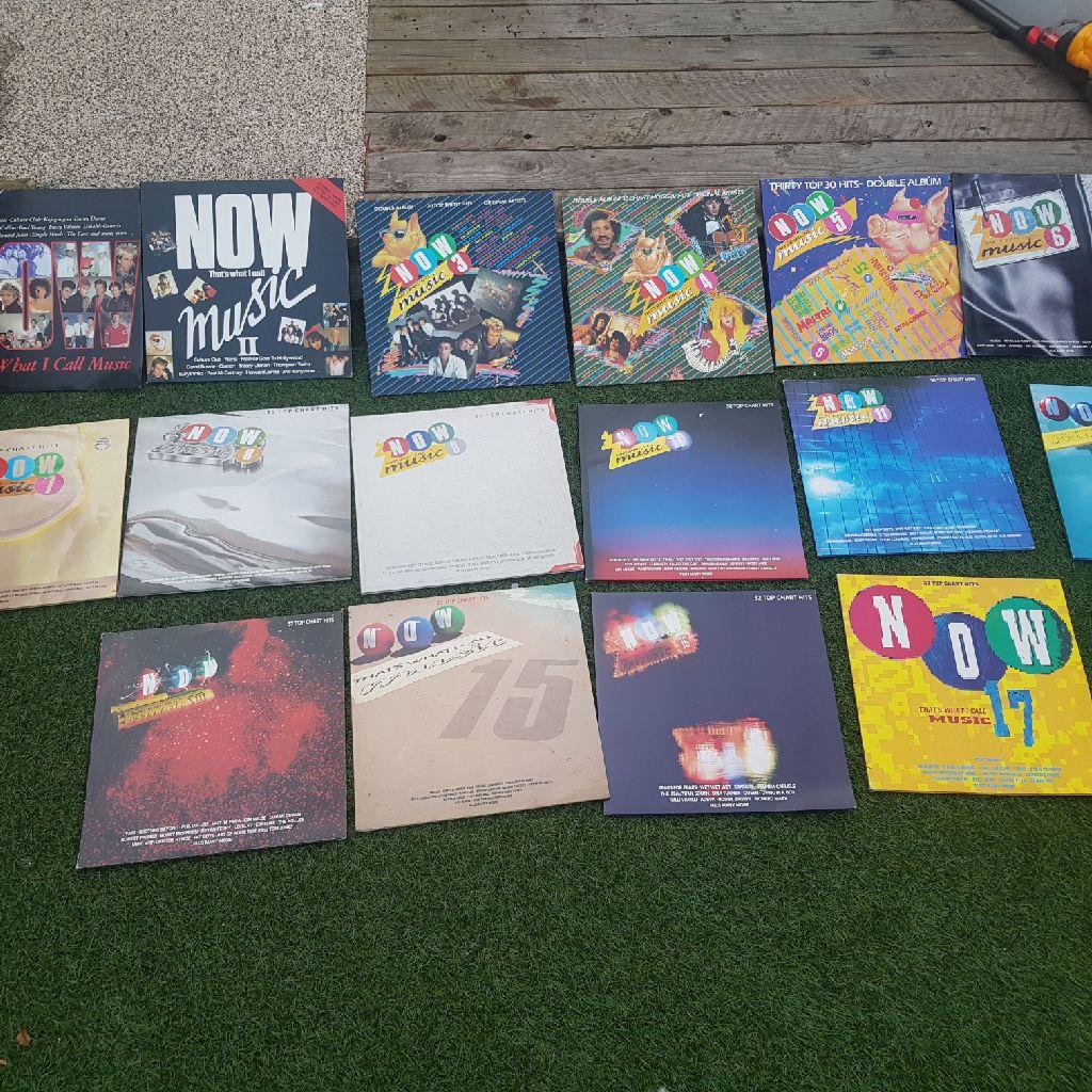 Now music vinyl