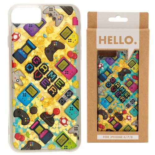 iPhone 6/7/8 phone case- gaming icons design