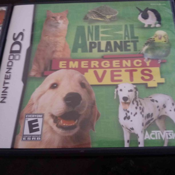 Nintendo DS animal planet emergency vet