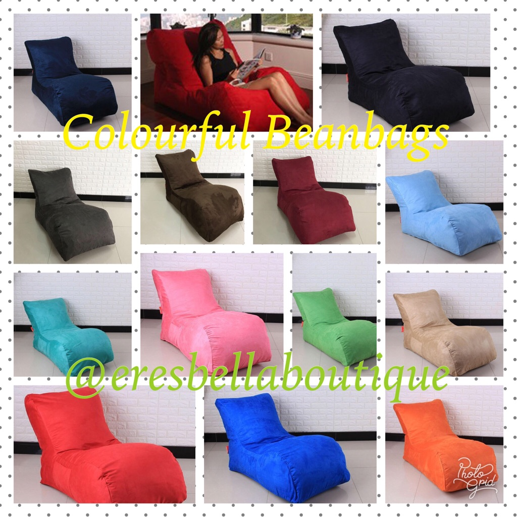 Colourful Beanbags