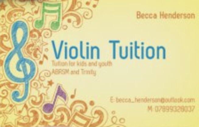 Beginner-Intermediate Violin Lessons