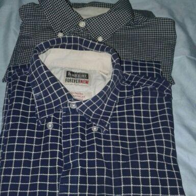 Haggar short sleeved shirts
