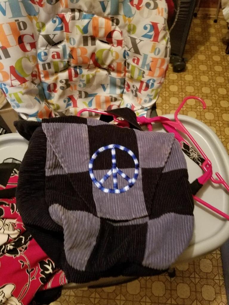 Hippie crossbody purse