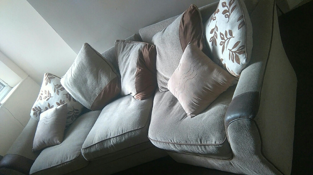 Large comfortable corner sofa