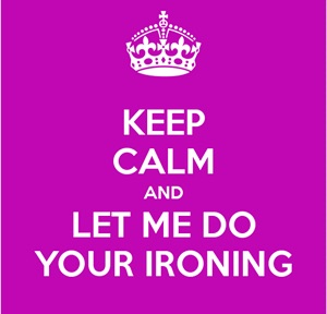 Ironing service based in wallyford