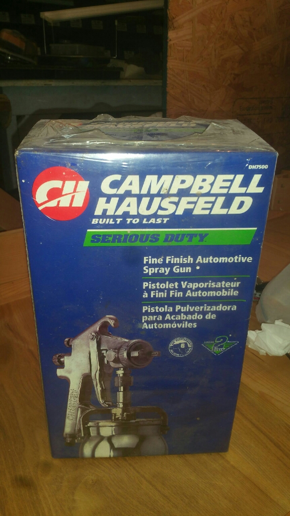 Campbell Hausfeld finish spray gun!!