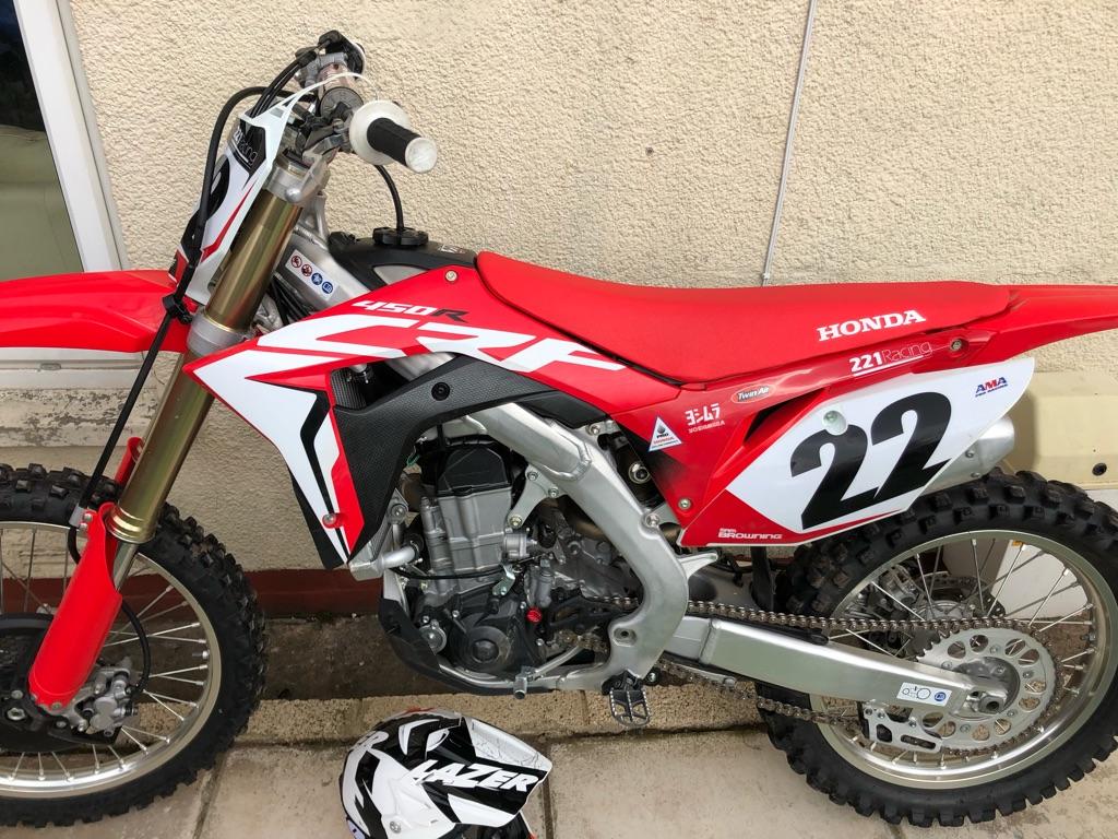 CRF 450 R Honda