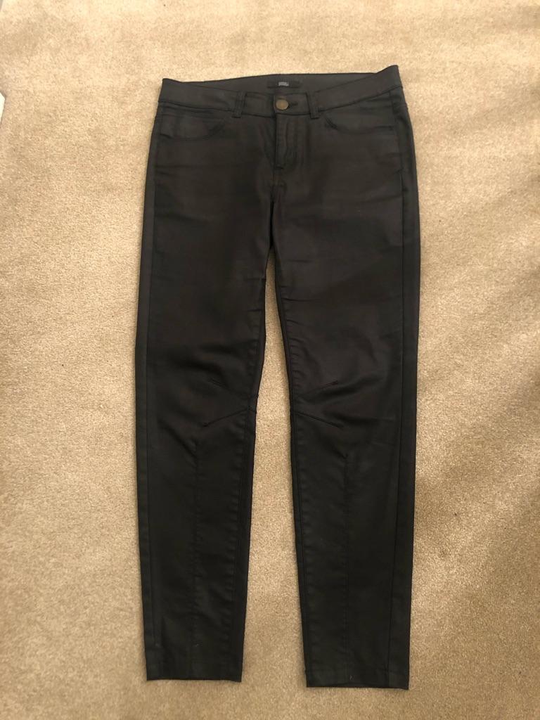 Ladies black jeans - size 10 M&S