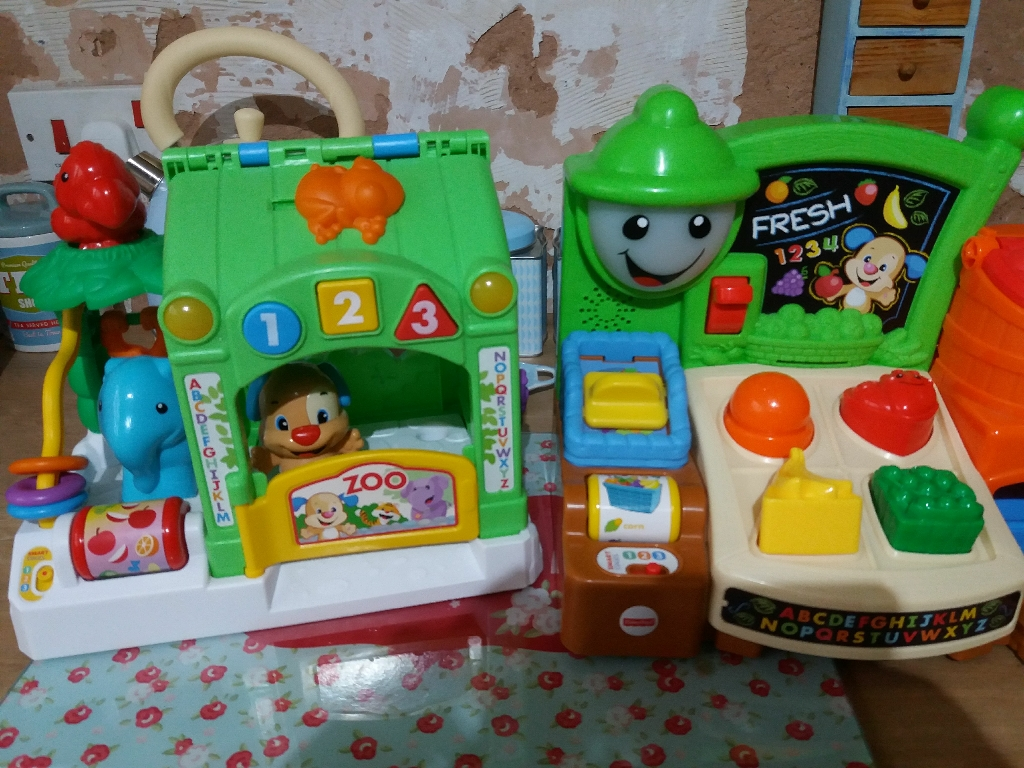 Fisher price learning stages toys x2
