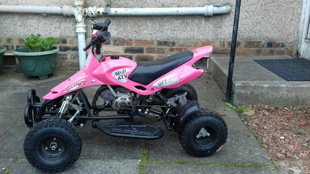 Atv pink 50cc quad