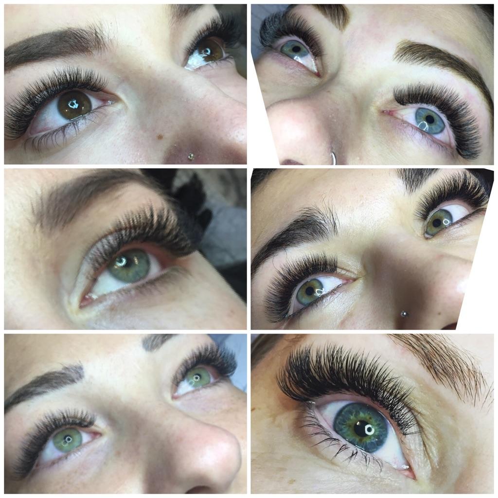 Beauty treatment lashes nails waxing salon