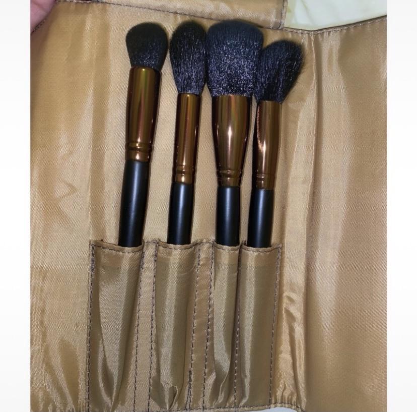 Make up brushes & case