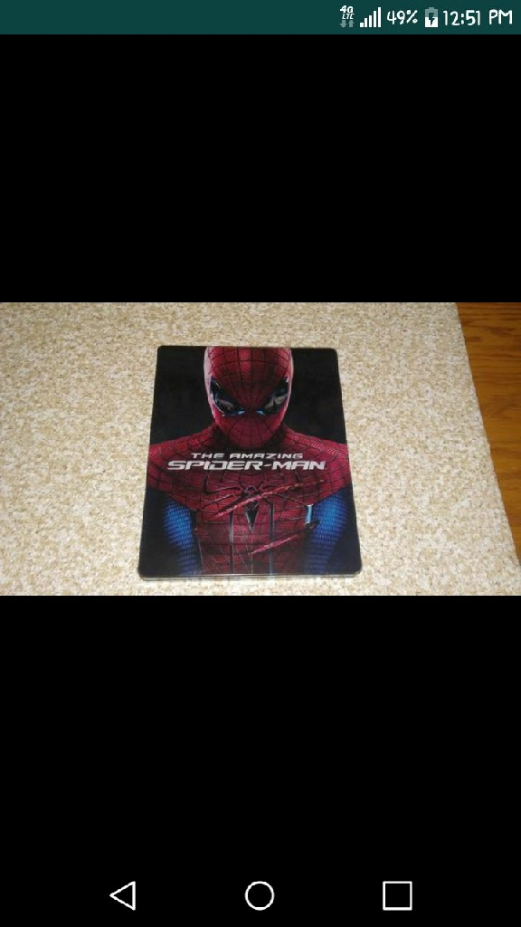 The Amazing Spider-Man on Blu-ray and DVD