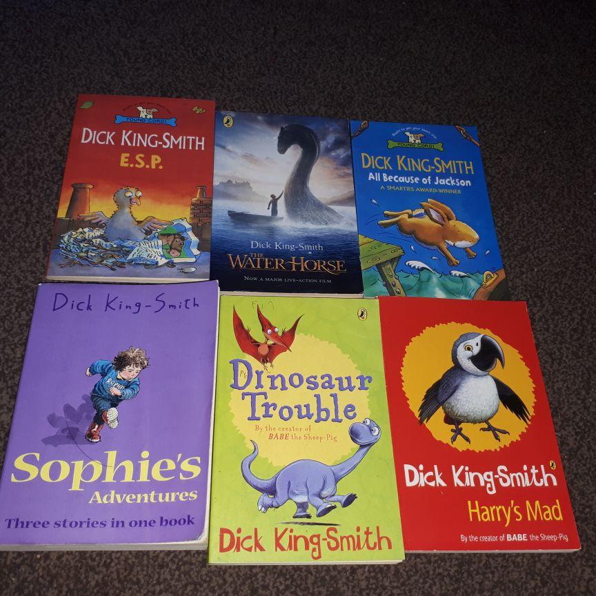 Dick king-Smith Books x15