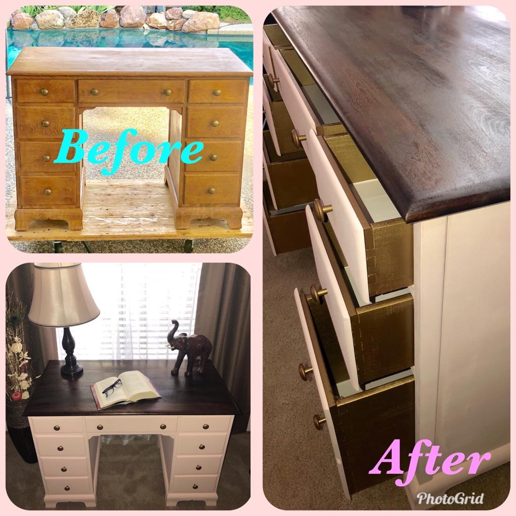 Elegantly Refurbished Vanity/Desk