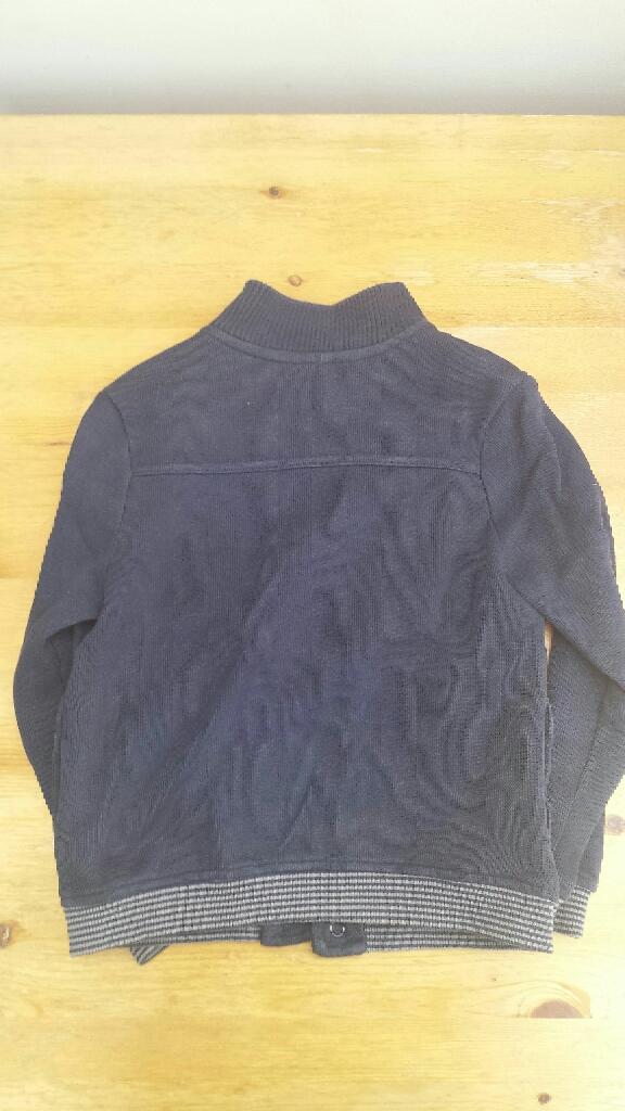 Sergent Major, light jacket dark blue with stripy hems 5 Years-110cm