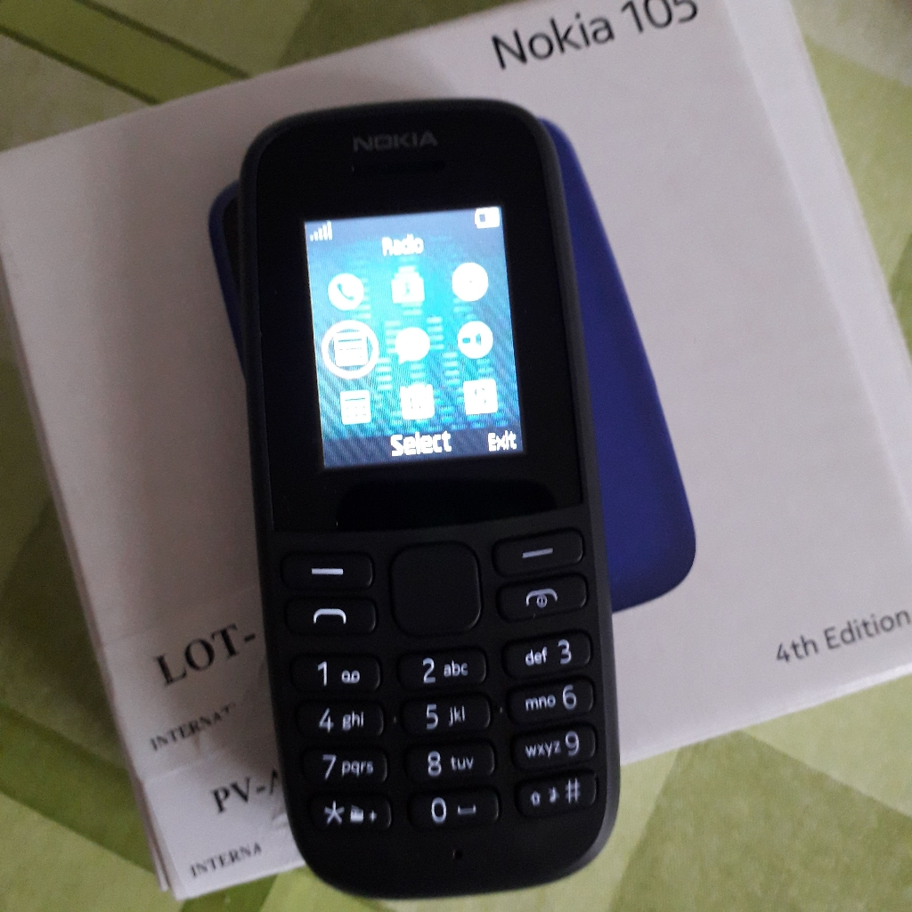 Nokia 105 Black New