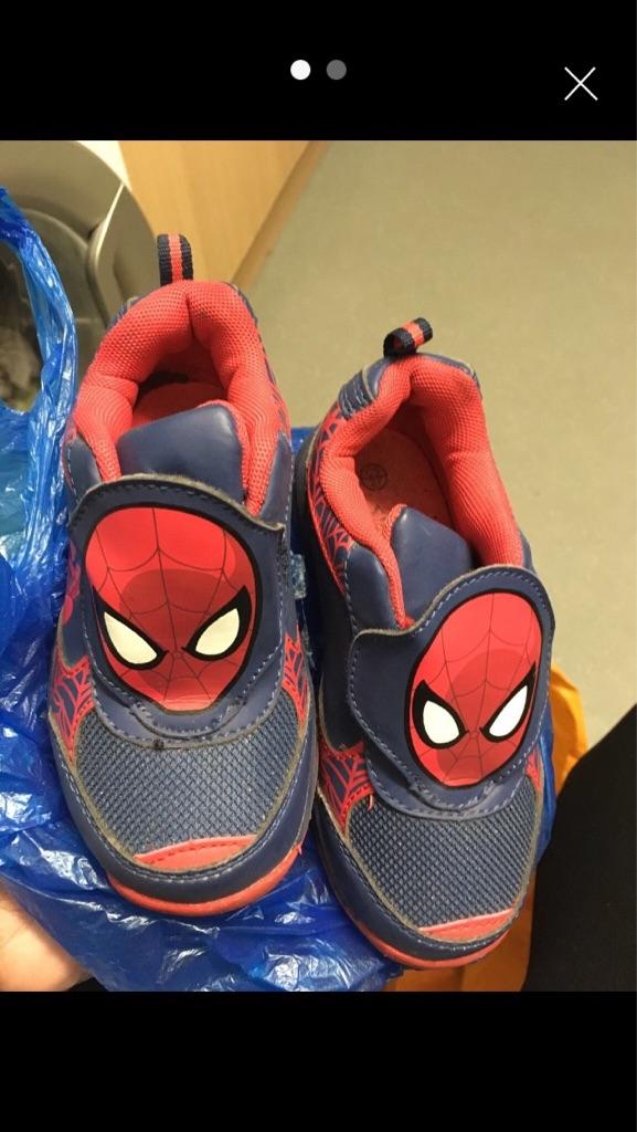 Spider man shoes kids