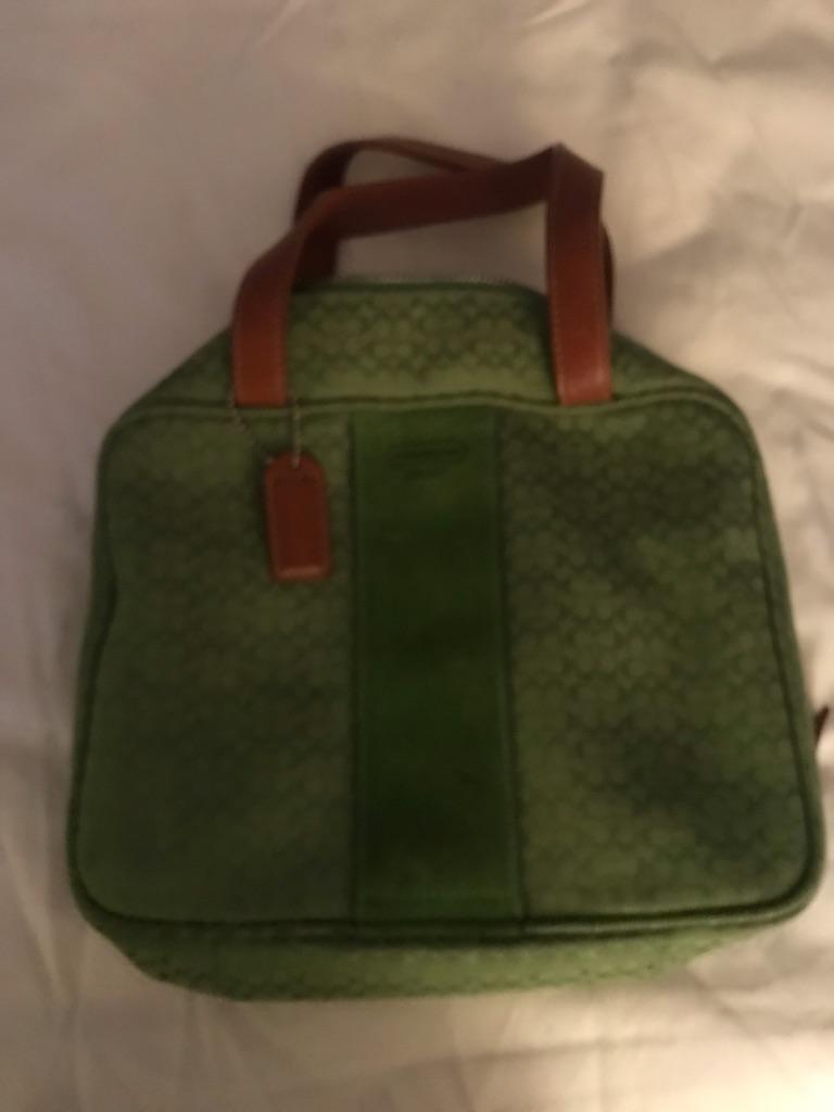 Coach makeup travel bag