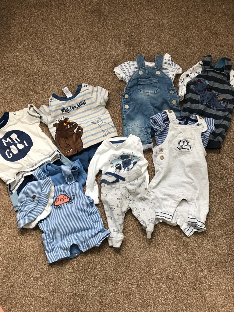 Baby boy newborn bundle free